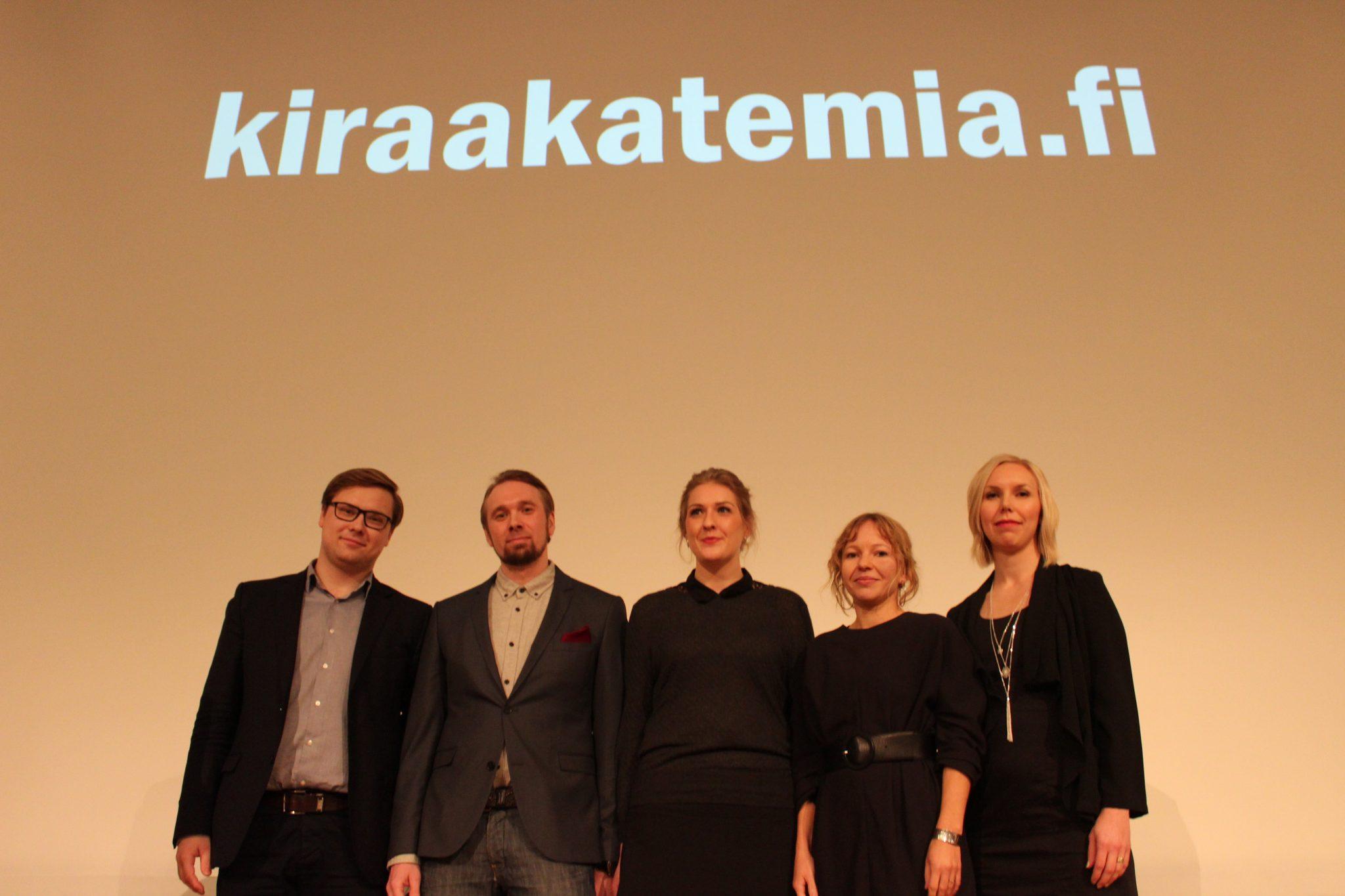 Nuoret kyvyt esillä KIRA-foorumissa
